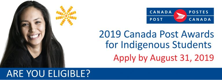 2019 Canada Post Awards for Indigenous Students